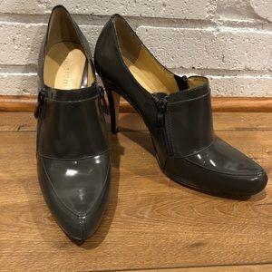 Boutique 9 Shoes - Boutique 9 tisha leather booties Grey 8